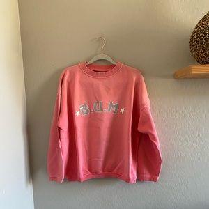 Vintage 1993 Spell out BUM Equipment sweatshirt